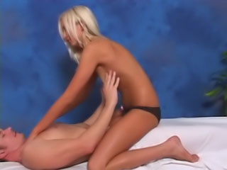 Round tit blonde babe gets wanting sucking plus screwing a huge detect