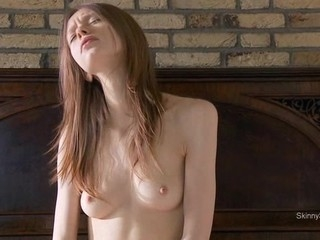 Playing thither her nasty twat gives beauty multiple orgasm