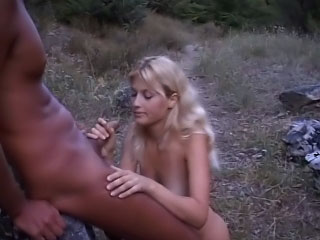 Horny peaches toddler getting fucked outdoor and loving it