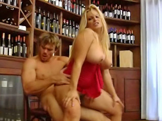 Prex off colour eyed blonde babe licks the head of a big overgrown cock