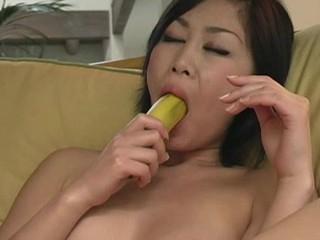 Breasty lady demonstrates anything this newborn got and masturbates